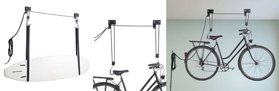 colgar bicicleta techo amazon, soporte para bicicletas techo, soporte techo bicicleta leroy merlin, poleas para colgar bicicletas, soporte de bicicleta para el techo