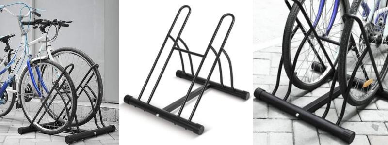 Aparca Bicicleta para 2, soporte para 2 bicicletas de suelo, aparcabicis leroy merlin, aparcabicis madera, aparcabicis suelo, aparcabicis vertical, aparcabicis amazon, aparcabicis decathlon