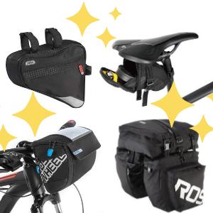 top 6 bolsas para bicis, ranking alforjas y bolsas para bicicletas